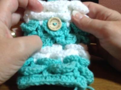 Blue Light Babies crochet crocodile stitch tutorial part 5