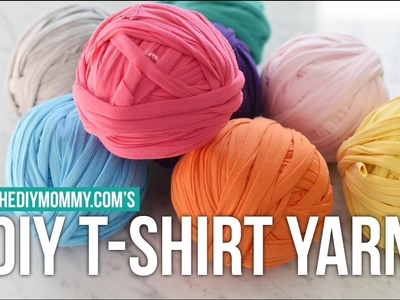[DIY Channel] How to Make Continuous T-Shirt Yarn from Knit Jersey Fabric