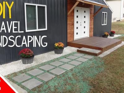 DIY Clean 'n Simple Gravel Landscaping - Part 2 of 2