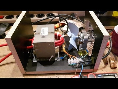 DIY spot welder with foot pedal