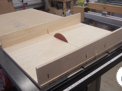 Easiest way to Make a Table Saw Sled!