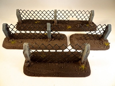 FG Terrain Tutorial: How to make Warhammer 40k Security Fencing