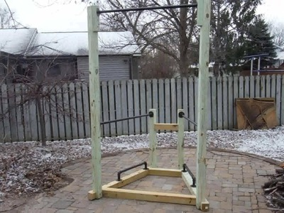 How to Build a Simple Backyard Bodyweight Gym