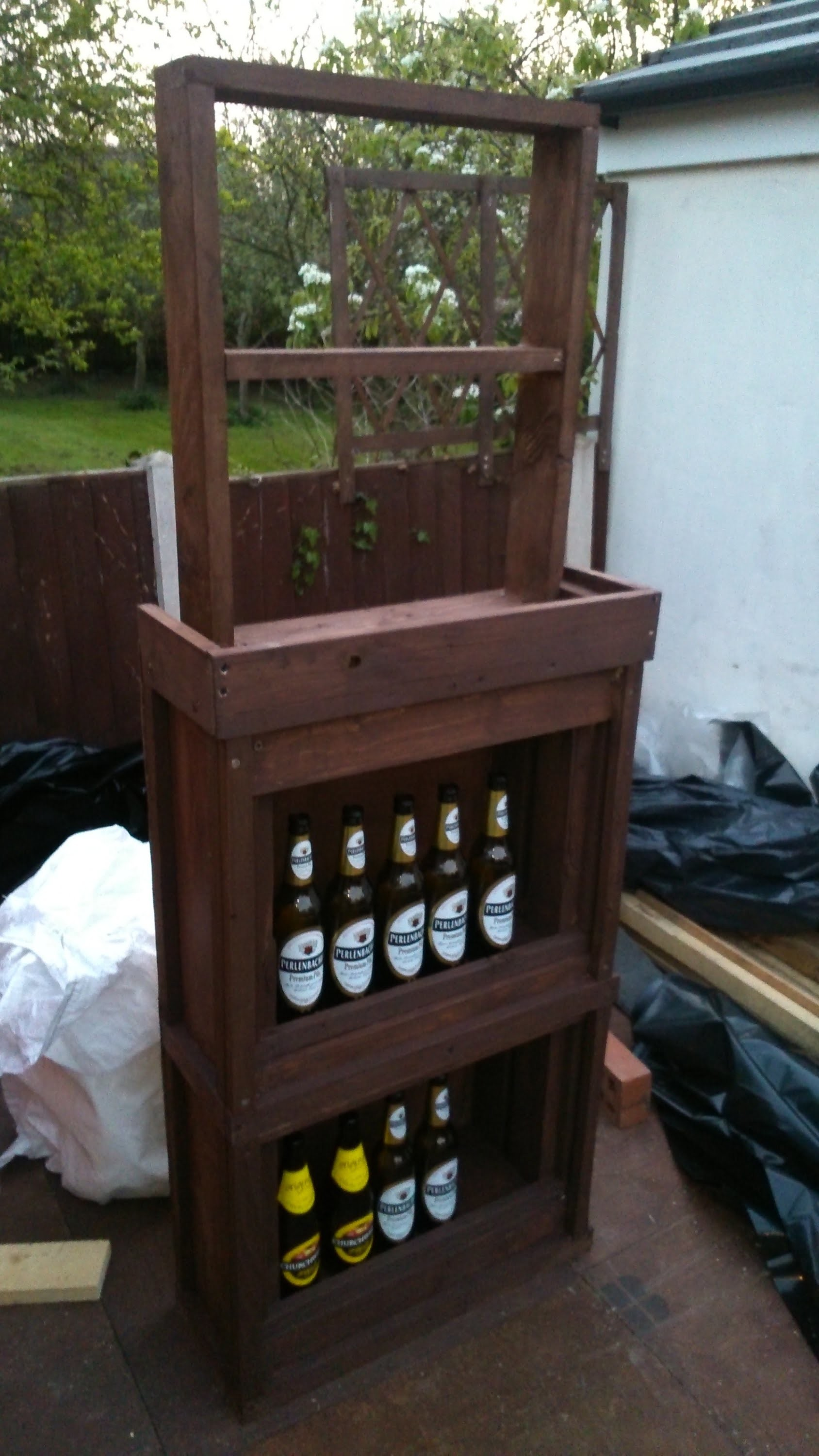 How To Build Your Own Bar Out Of Pallet Wood Step By Step, My Crafts ...