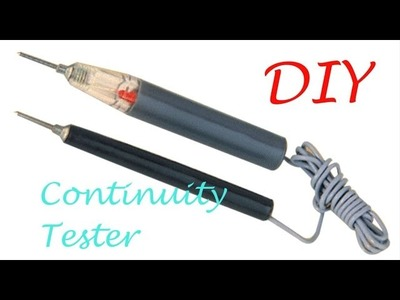 How to make a Continuity Tester -  circuit Tester