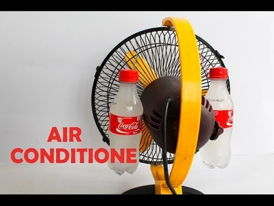 How To Make AIR CONDITIONER Using Plastic Bottle Homemade