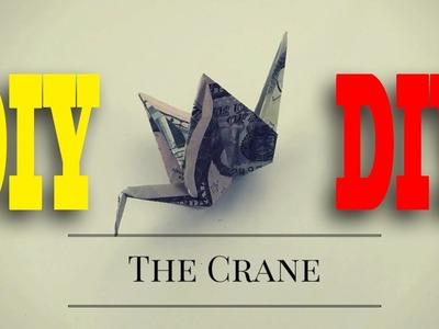 How to Make Dollar Origami Crane ||  Dollar Origami Crane instruction || Origami Gifts Crane