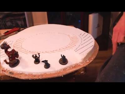 How to make sloped wargaming hills