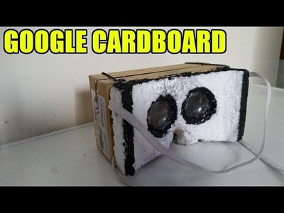How to make VR headset of box samsung s5