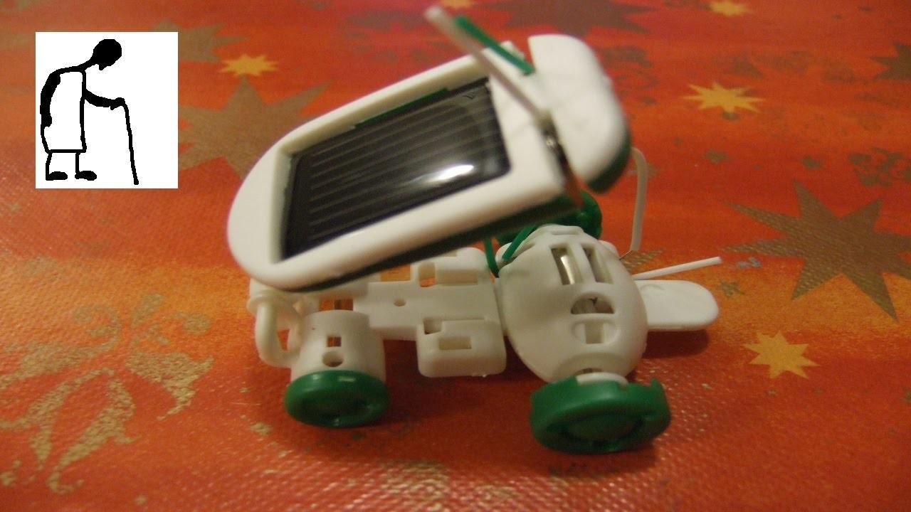 Let's assemble a Solar Robot Kit 6 in 1 toy kit