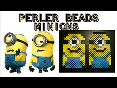 Perler Beads how-to (minion)
