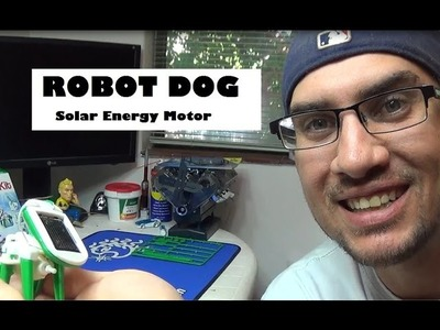 Solar Powered Motor Kit - Puppy Dog Build