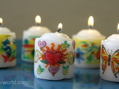 A Tip from Sophie:  How to Safely Burn your Art Candles | Sophie's World