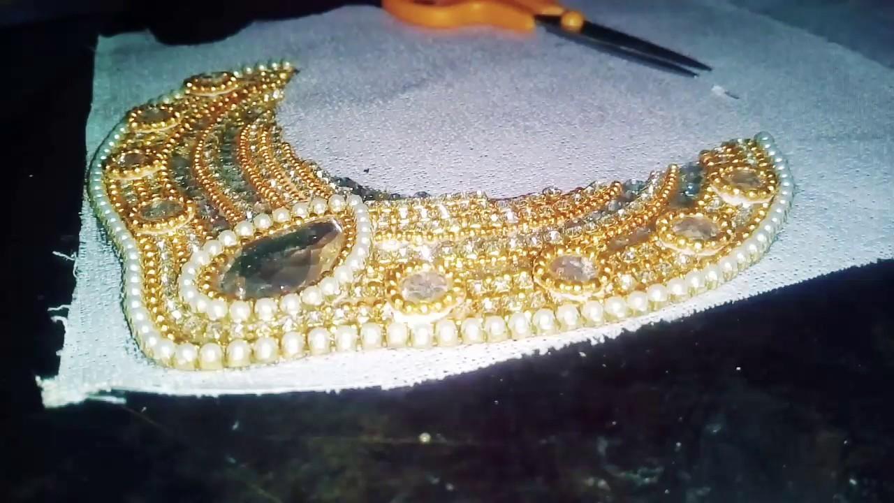   DD's DIY  DIY Paper Necklace  Bridal Chocker Necklace  