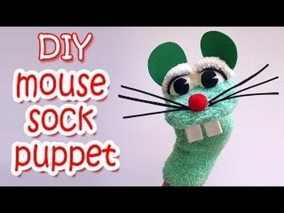 DIY Crafts : How to make a Mouse Sock Puppet - Ana | DIY Crafts