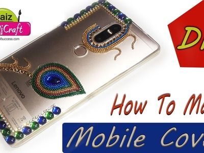 DIY: how to make mobile covers at home for girls |mobile covers with kundan | Art With Creation |#67