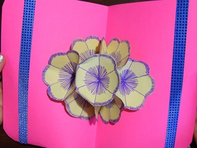 Gift for Mom (Mother's Day) 3D postcard of paper