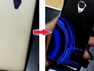 How to create your own stylish back cover for Mobile in 5 ₹ = 0.08 $ .