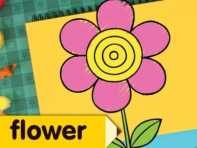 How to Draw a Flower | Simple Drawing Lesson for Kids