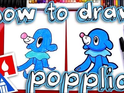 How To Draw Popplio Pokemon