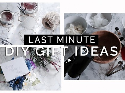 HOW TO: Last Minute DIY Gift Ideas