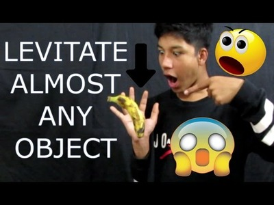 How to levitate any objects with no things(5 Ways to LEVITATE!!) Tutorial ✔