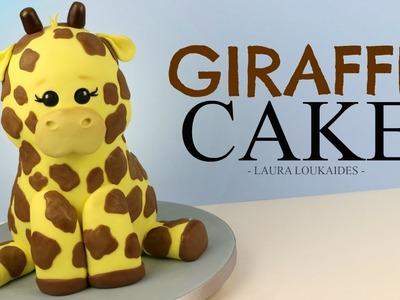 How to Make a 3D Giraffe Cake - Laura Loukaides