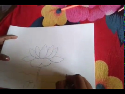 How to make a beautiful lotus for kids