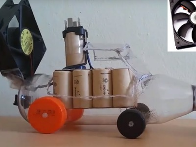 How to make a Car - Powered Car - Very easy