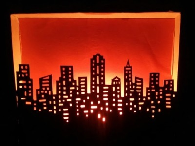 How To Make a decorative building lamp