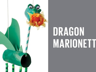 How to make a dragon marionette