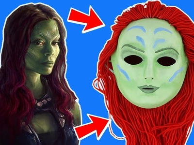 How To Make A Gamora Mask ???? Guardians Of The Galaxy Crafts ???? Wildbrain Toy Club - Fun For Kids!