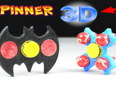 How To Make a Lot SPINNER Wiht 3D Printer
