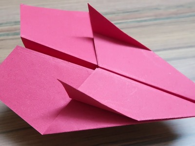How to make a PAPER Airplane - Best Paper AIRPLANE in the WORLD