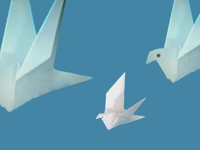 HOW TO MAKE A PAPER BIRD