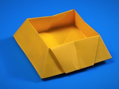 How to make a paper candy box   Origami BOX
