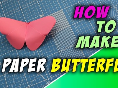 ???? How to make a paper batterfly | Easy origami for kids