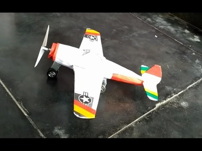 How to make a paper plane aircraft 3D