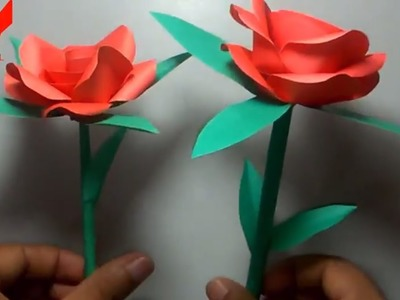 How to make a Paper Rose -Origami Rose