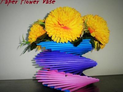 How to Make a Paper Vase : DIY