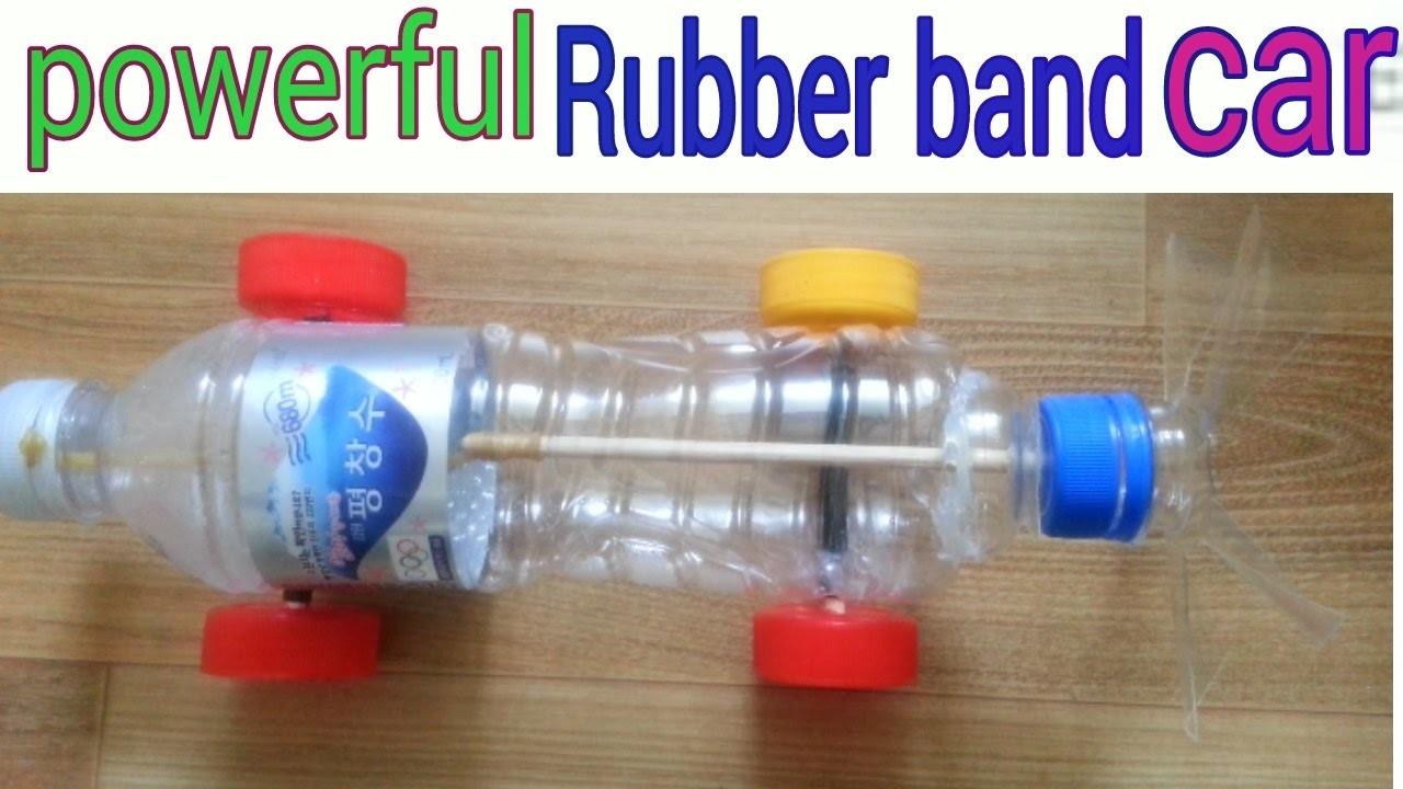 How To Make A Rubber Band Powered Car Air Car