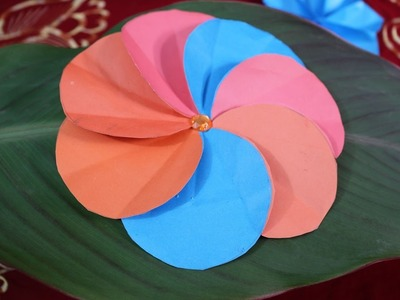 Simple how to make your own kusudama origami flower how to make how to make a simple paper flower diy crafts making at mightylinksfo