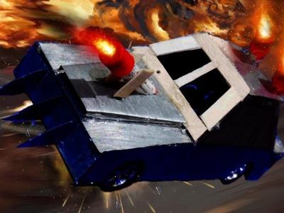How to Make Death Race Movie Car | Metal Body | DIY |