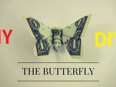 How to Make Dollar Origami Butterfly ||  Dollar Origami Butterfly instruction || direction