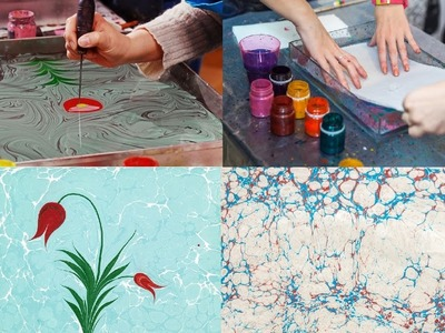 How to make Ebru Art?