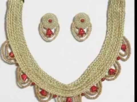 How to make jute earrings || Jute Latest earrings