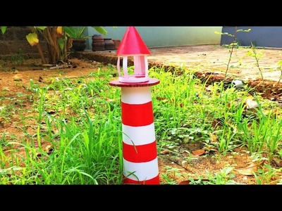 How To Make Light House    Simple model