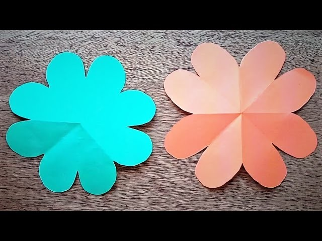 How to make paper flowers Origami - paper flowers diy - 2017