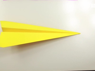 How to make paper plane that flies long and high