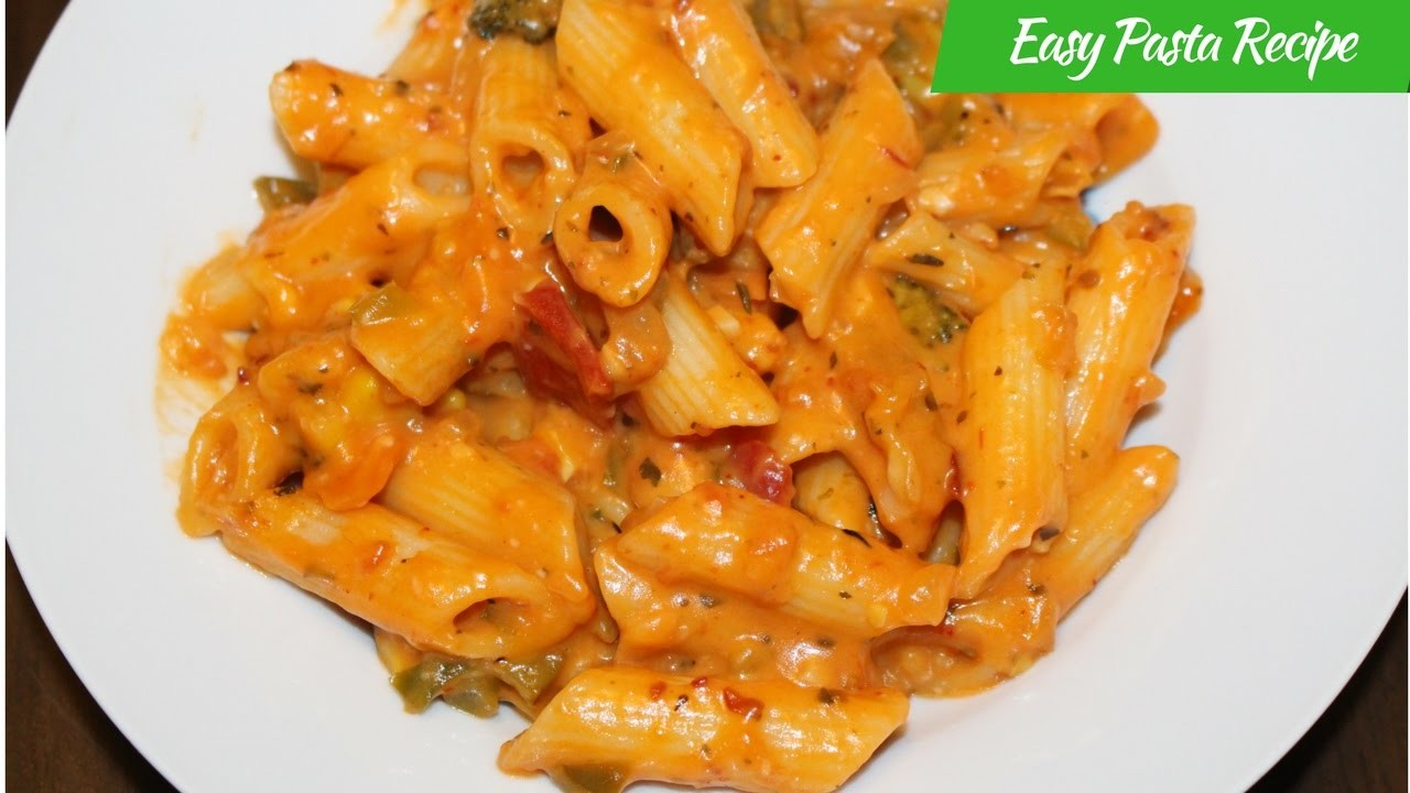 How To Make Pasta Recipes-Know The Recipe-Italian Penne ...